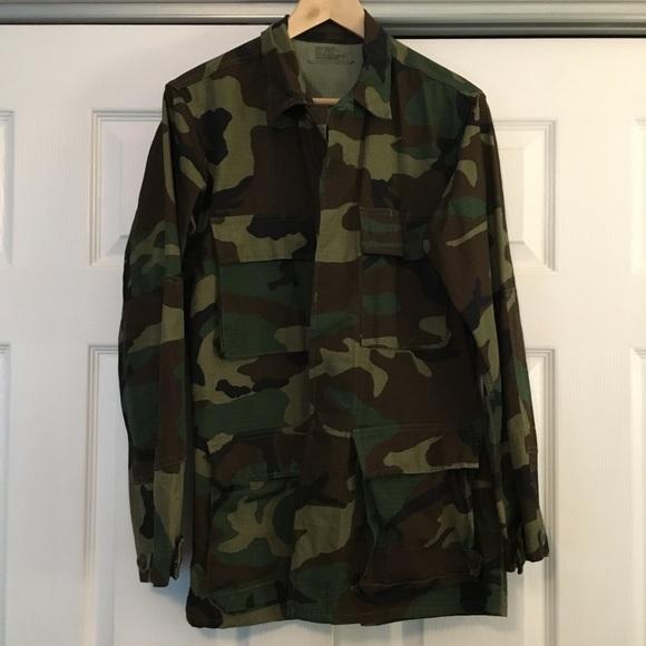 07f4d6ac8d753 Terry Manufacturing Co Jackets & Coats | Mens Camo Combat Jacket ...